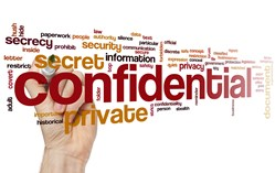 Confidential Document Tag Cloud